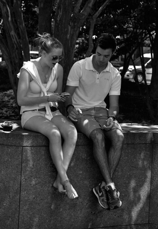 A cute couple by jwebbermedia
