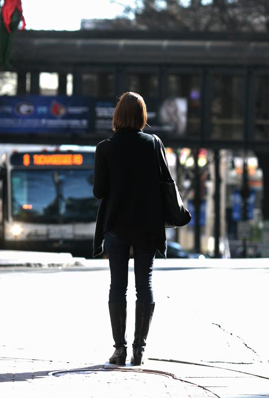 Waiting to cross by jwebbermedia