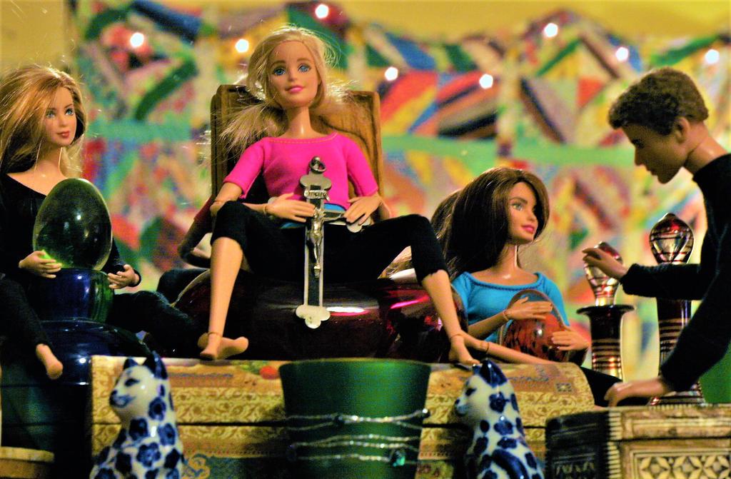 Altar of the Dolls by jwebbermedia
