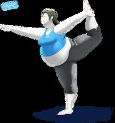 Wii ''Fat'' Trainer #digitalCurves