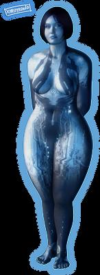 Cortana (Halo 4) #digitalCurves