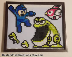 Megaman Frog by CustomPixelCreations