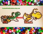 Yoshi Tongue Action by CustomPixelCreations