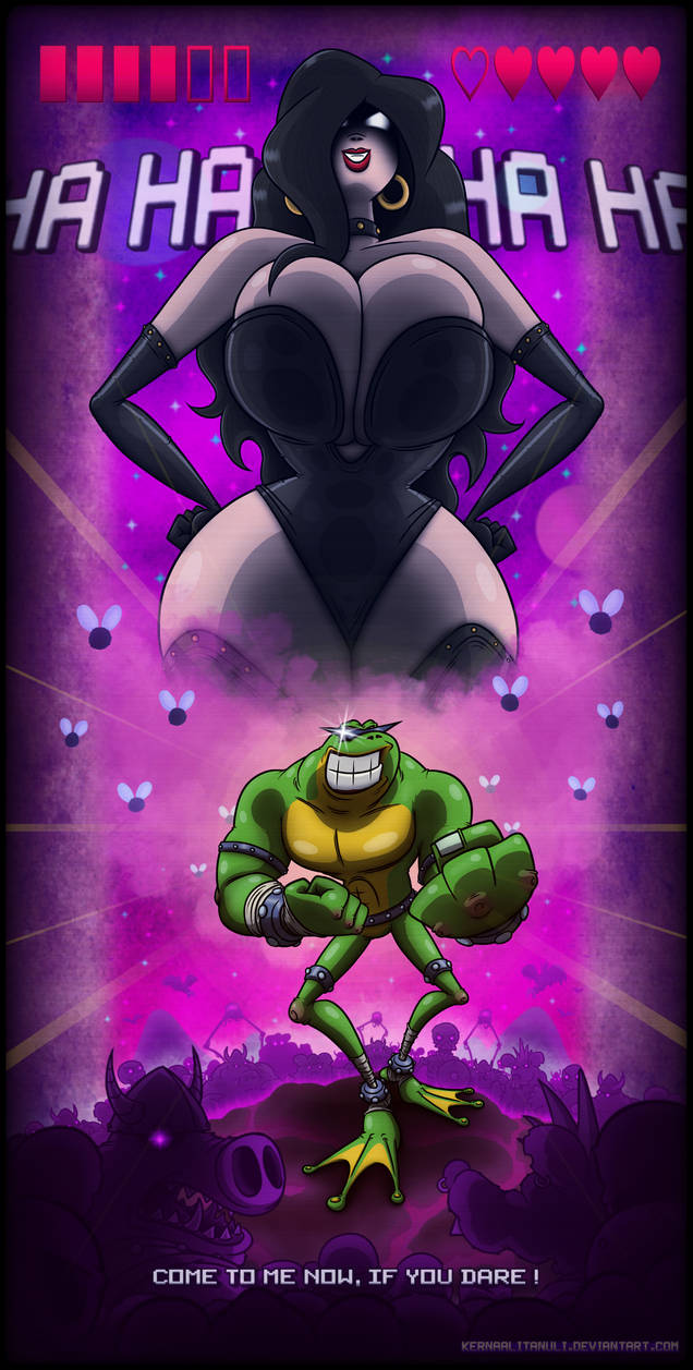 Pimple toad vs dark queen