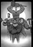 Commission - KillerPartyAtHighWay666 by KernaaliTanuli