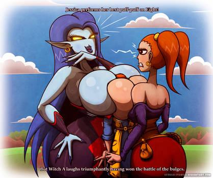 Dragon Quest 8 - PuffPuffBattle