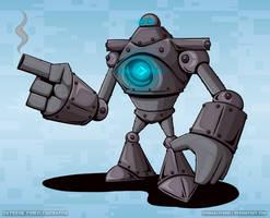 Super Fighting Robot by KernaaliTanuli