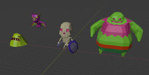 LowPoly Goon Squad by KernaaliTanuli