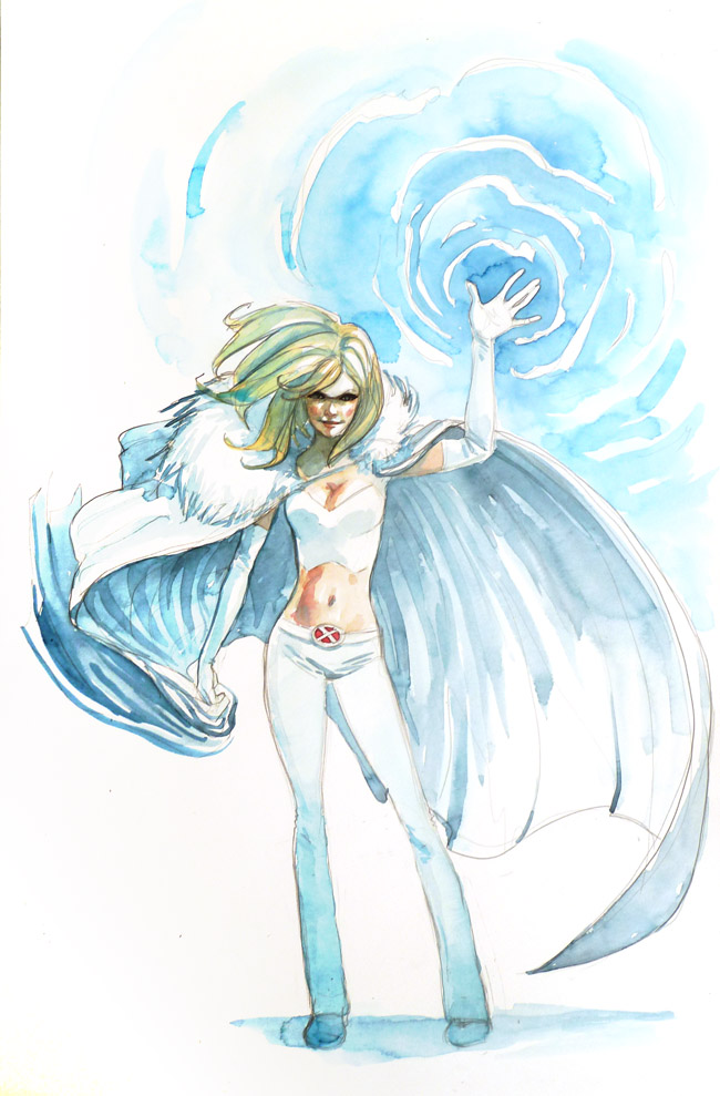 Emma frost by ryuloulou