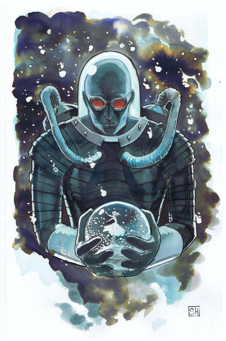 Mr freeze by ryuloulou on deviantart