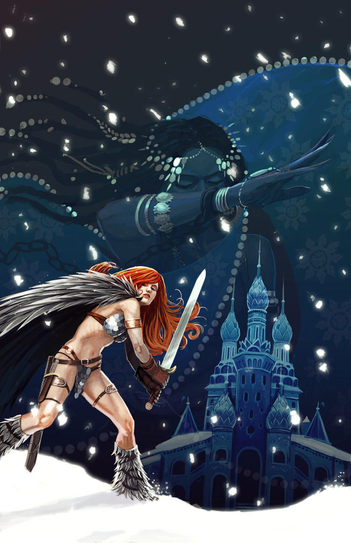 Red Sonja #3 by ryuloulou