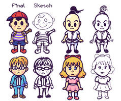 Earthbound Characters