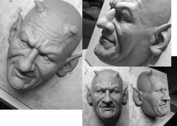Mask Sculpt 2 by glaucolonghi