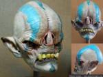 Alien Head finished