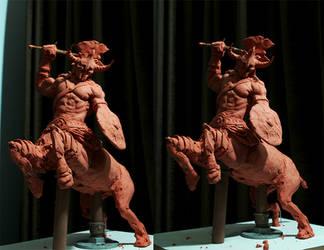 centaur maquette conceptual by glaucolonghi