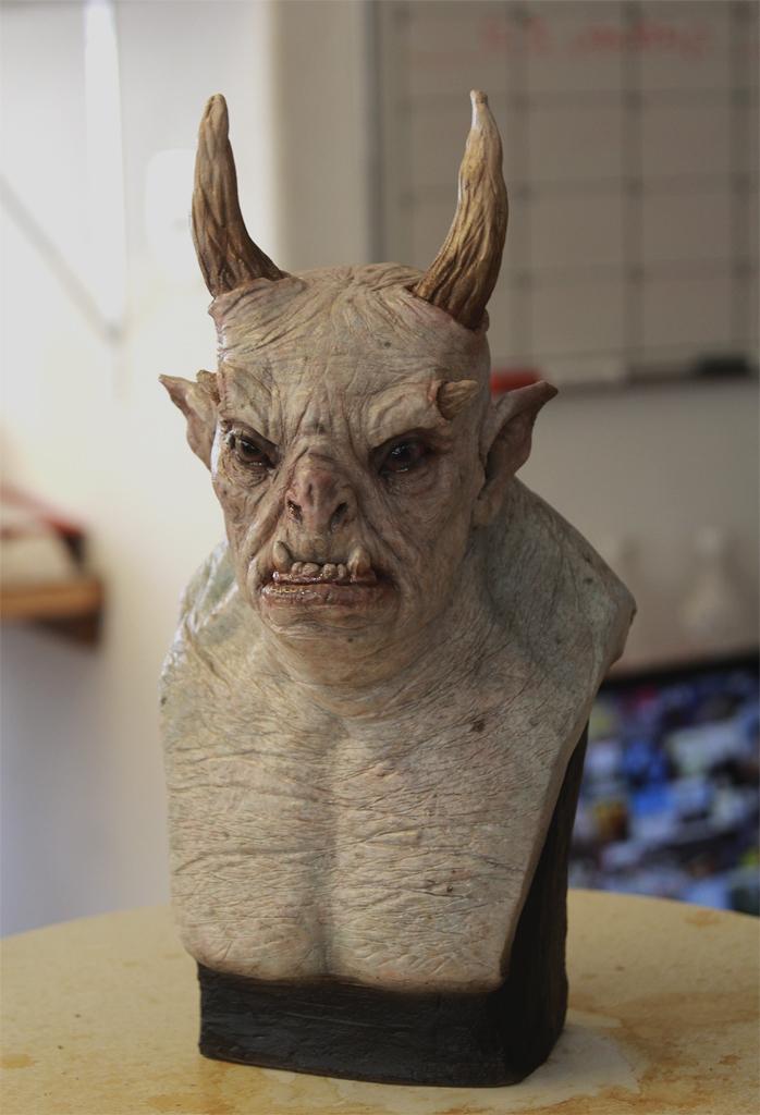 Creature maquette by glaucolonghi on deviantart