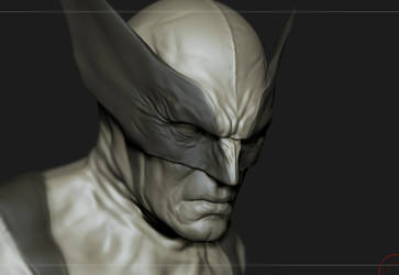 wolverine sketch by glaucolonghi