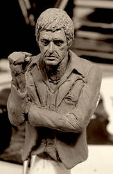 scarface bust - update 2 by glaucolonghi