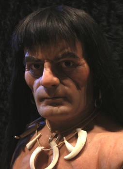 Frazetta`s Conan life size bust