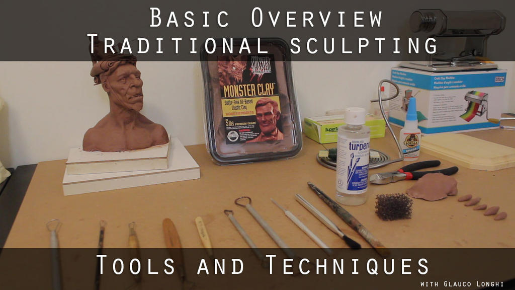 Introduction to traditional sculpting by glaucolonghi