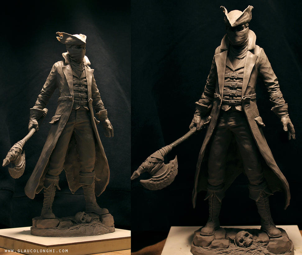 Bloodborne statue by glaucolonghi
