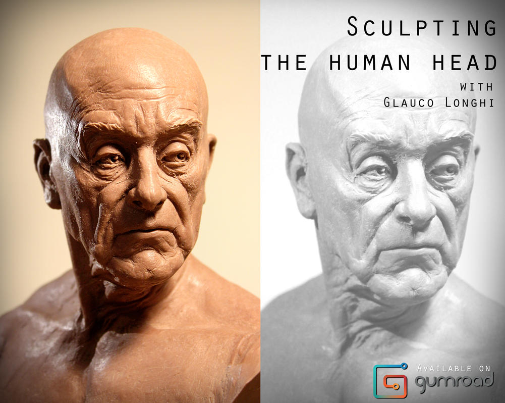 Sculpting the human head by glaucolonghi
