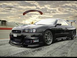 Darkness Design-Nissan Skyline by DarknessDesign