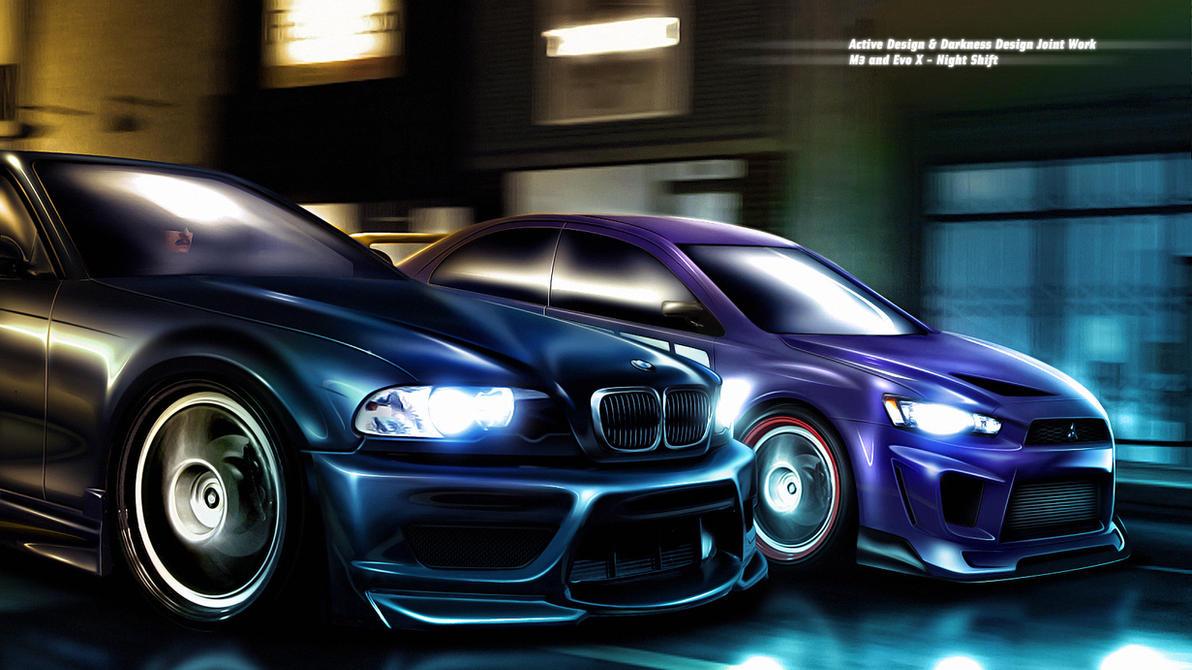 M3 - Evo X Night Shift by DarknessDesign