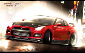 Darkness Design - Nissan GTR by DarknessDesign