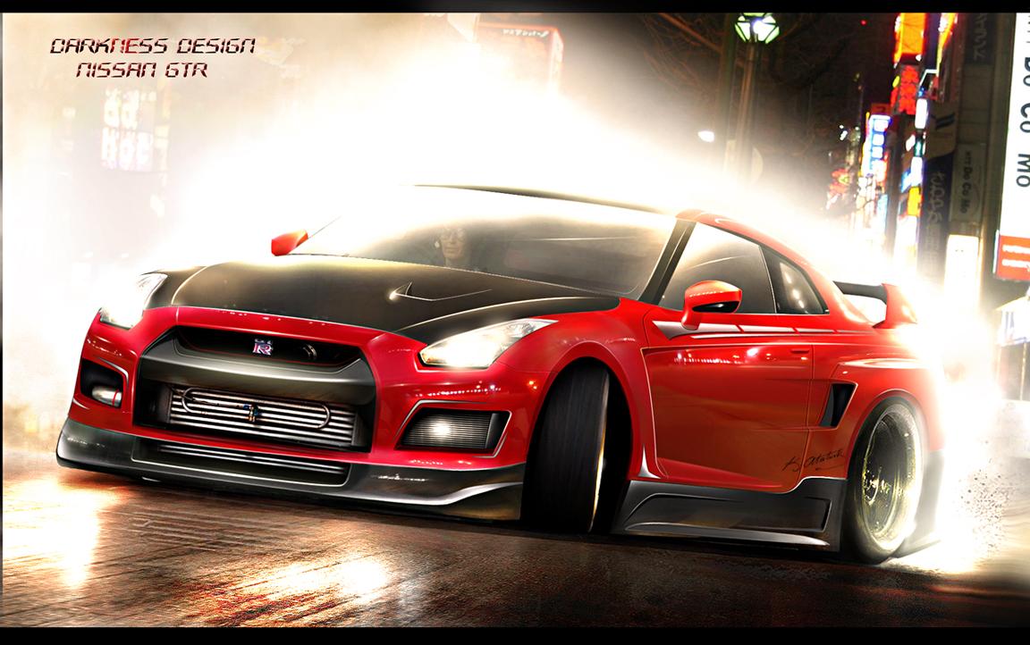 Nissan Gt R Drift Best Wallpaper Background