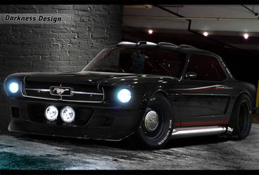 Darkness Design - Ford Mustang by DarknessDesign