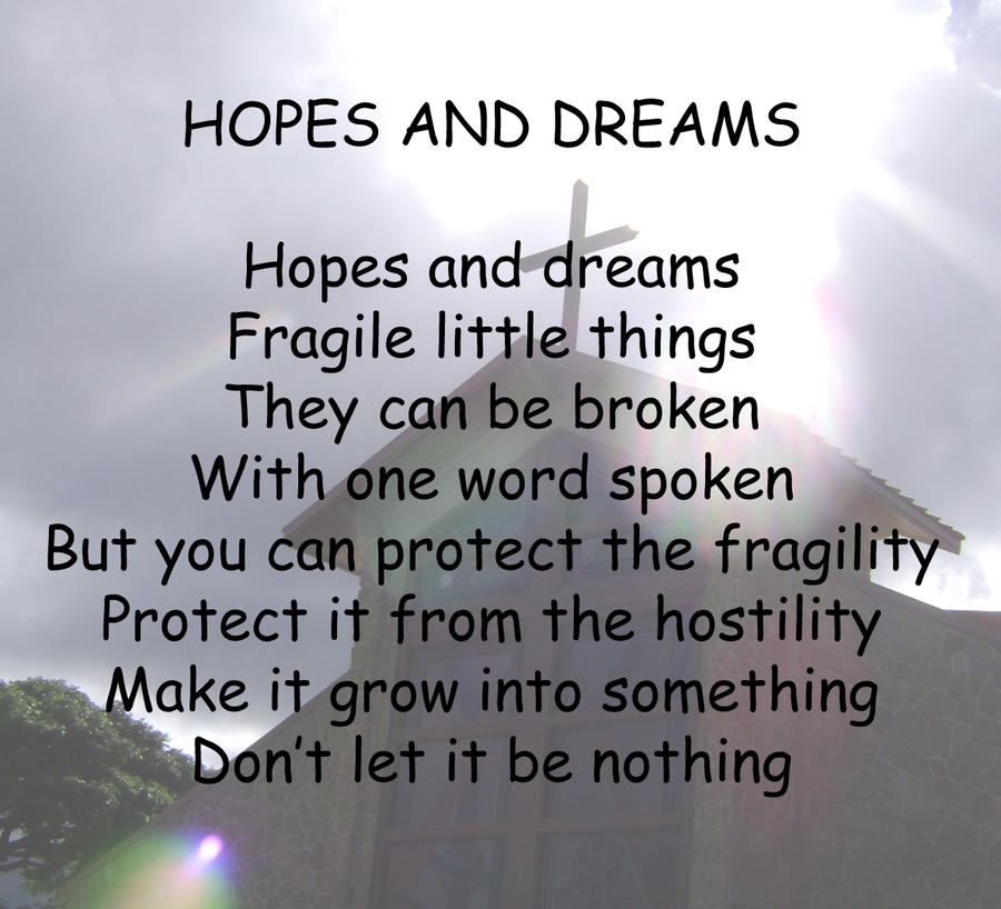 hopes and dreams essay