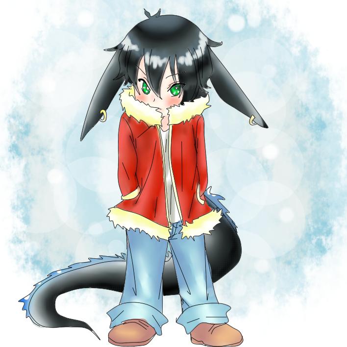 Commission carl the dragon boy by mi chan4649 on deviantart - Anime boy dragon ...