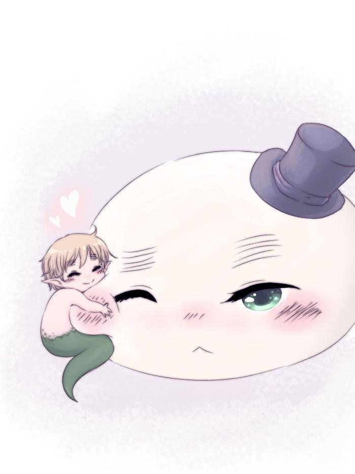 APH - Snake!england and Mochirisu by Mi-chan4649
