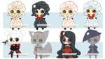 LOWER PRICE:Set Price: Costume Halloween Adopts