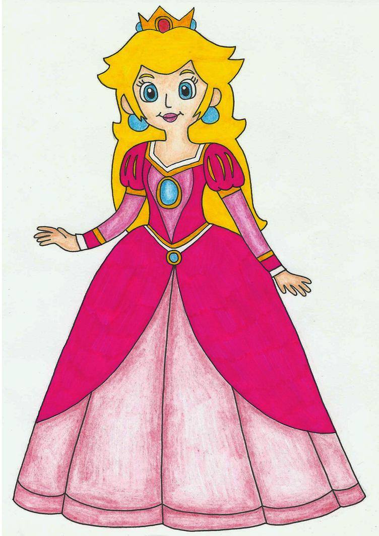 Princess Peachu0026#39;s New Dress By Suki-Rainbow On DeviantArt
