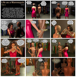 Life as a Mannequin Pt2 by Gildsoul by Gildsoul