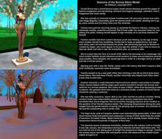 Seasons of the Bronze Bikini Model by  Gildsoul