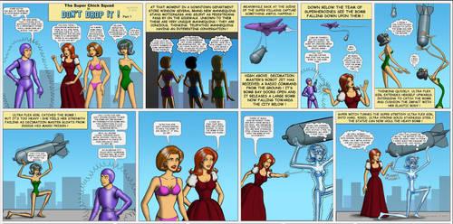 Metal Superheros pt-1 by Gildsoul- WIP