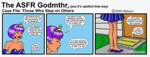 ASFR Godmthr Mini Comic by Gildsoul