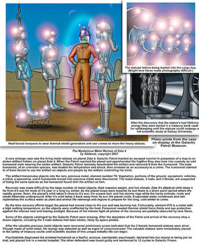 Mysterious Metal Women of Zeta 4 by Gildsoul