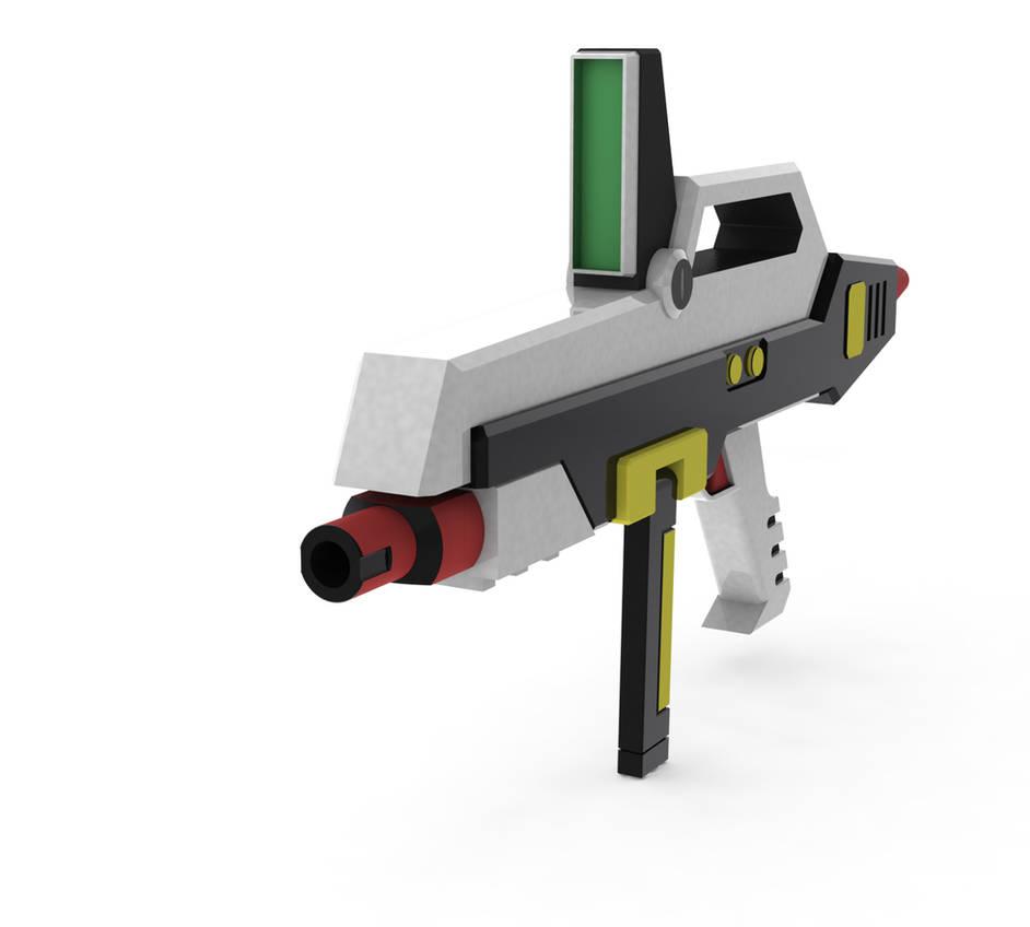 Hazel Gundam Gun Solidworks by B4zt4rd on DeviantArt