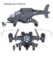Vertihawk VTOL concept by Exlinard