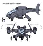 Vertihawk VTOL concept