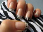Zebra Nail Polish 2