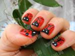 Ladybird nails part 5