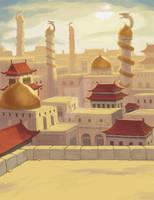 The City of Pardis by binkibonsai