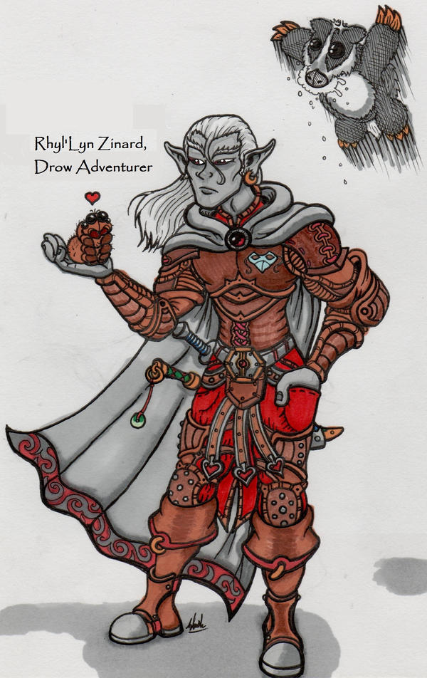 Rhyl'Lyn Zinard (Color) by binkibonsai