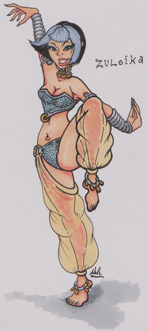 Zuleika Doodle - Color by binkibonsai