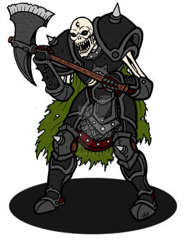 Armored Skeleton Warrior